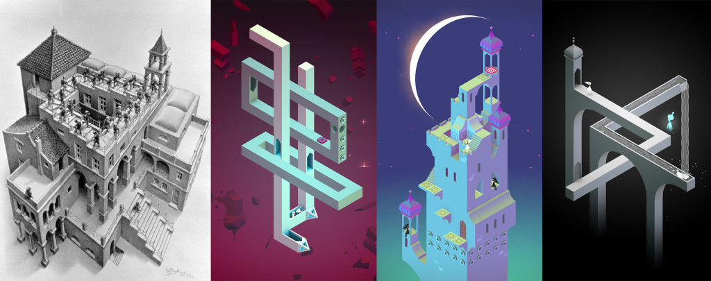 Escher Monument Valley