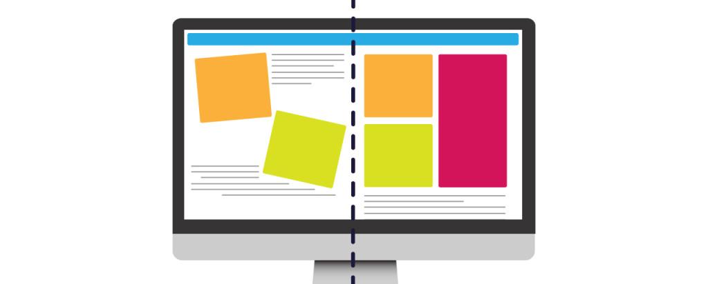 gridded web design