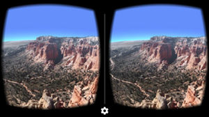Google Cardboard 360° video headset viewer inside pictures