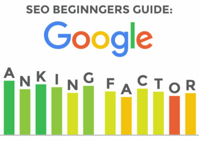 SEO Beginners Guide: Google Ranking Factors