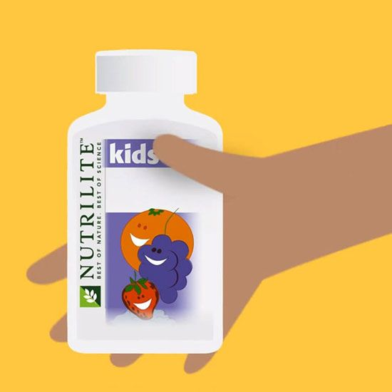 Nutrikids Product Launch Animation – Nutrilite