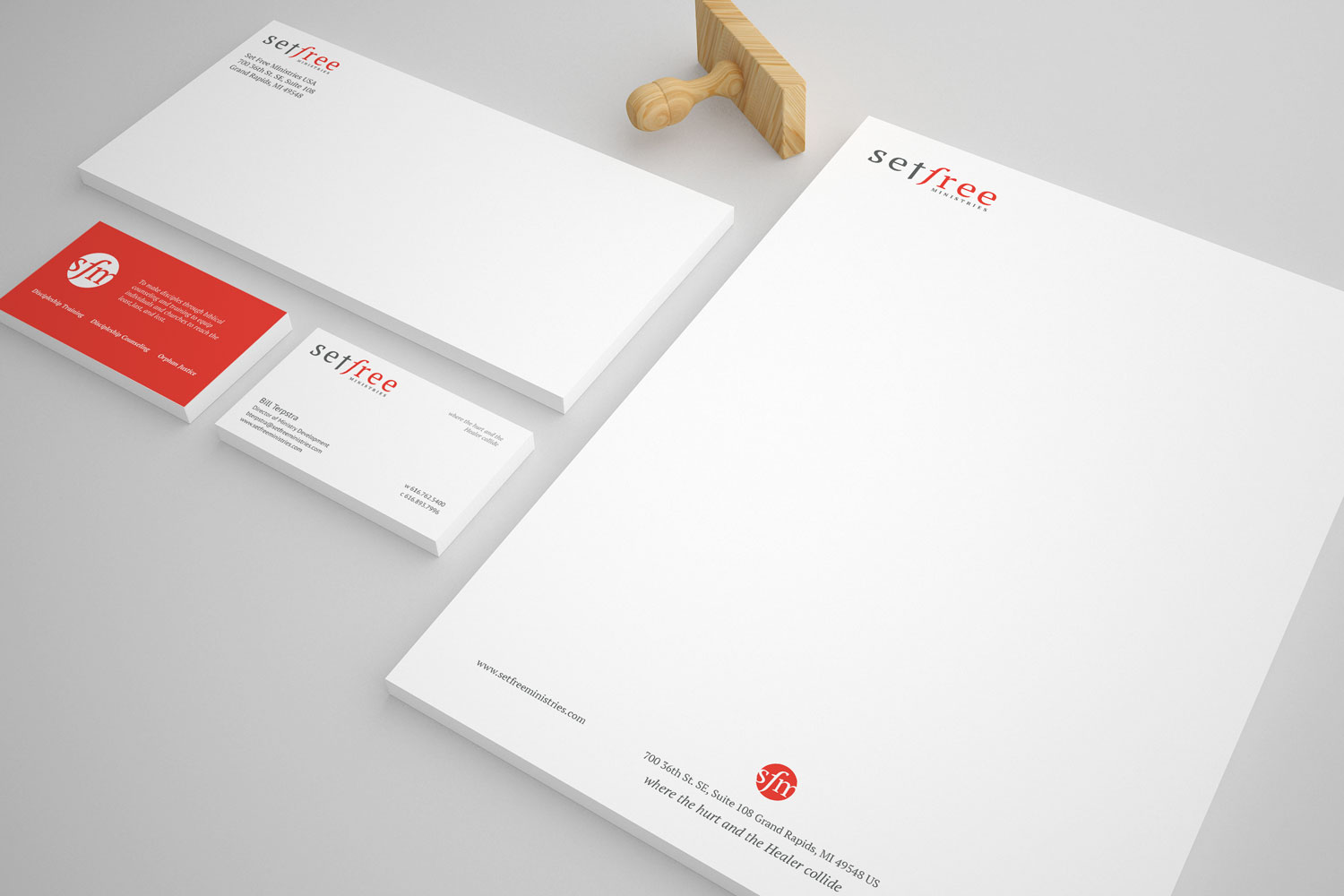 Set Free stationary mock up