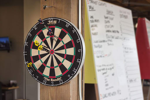 DVS office dartboard