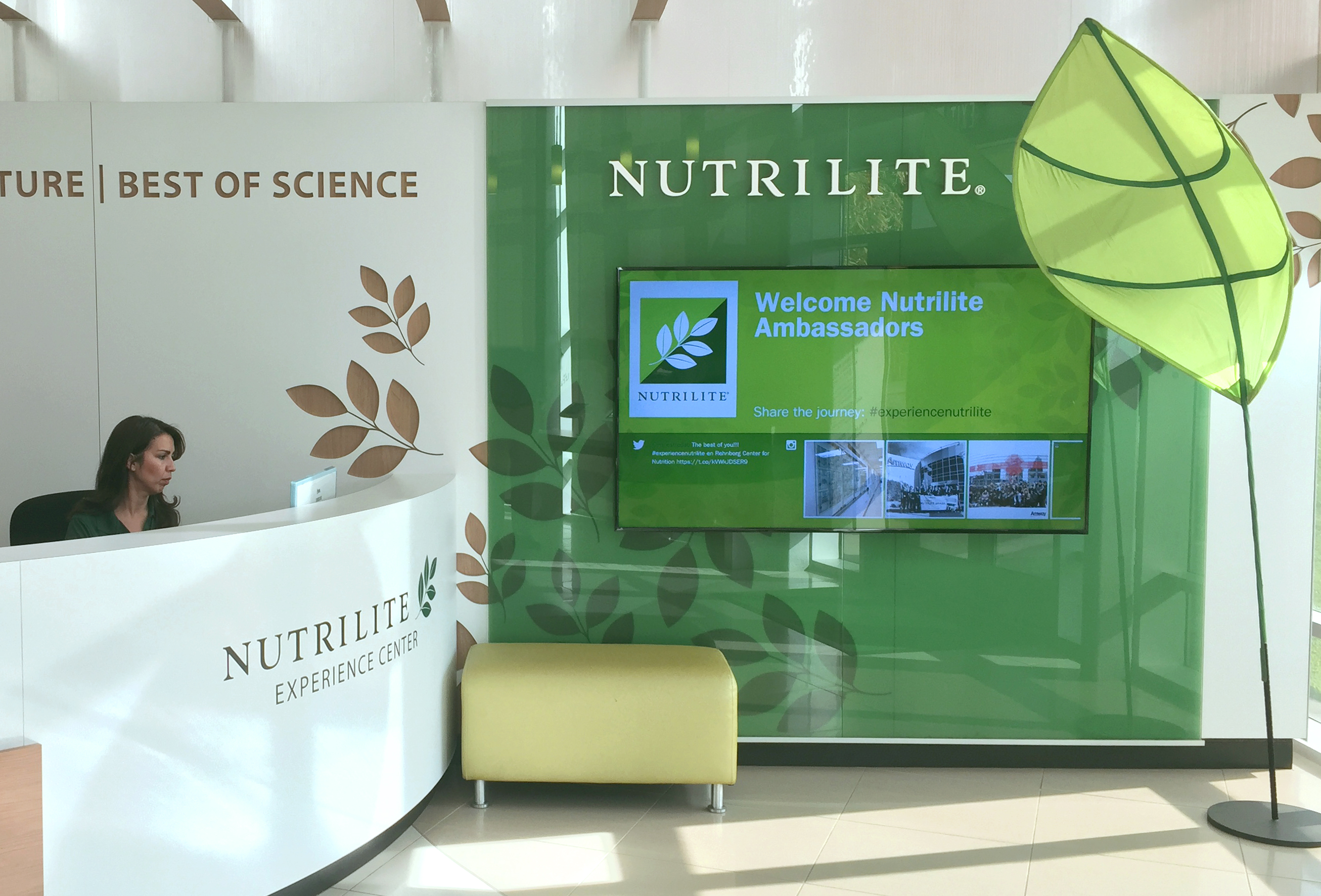 Nutrilite Center for Optimal Health Entrance