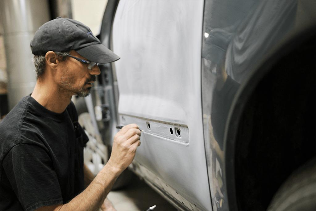 Impact Collision - detailing trim