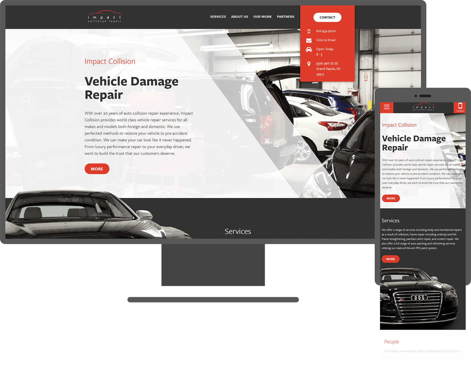 impact-collision-website-mockup