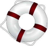 life ring illustration