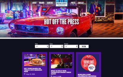 Bowlero Corporation Events Page