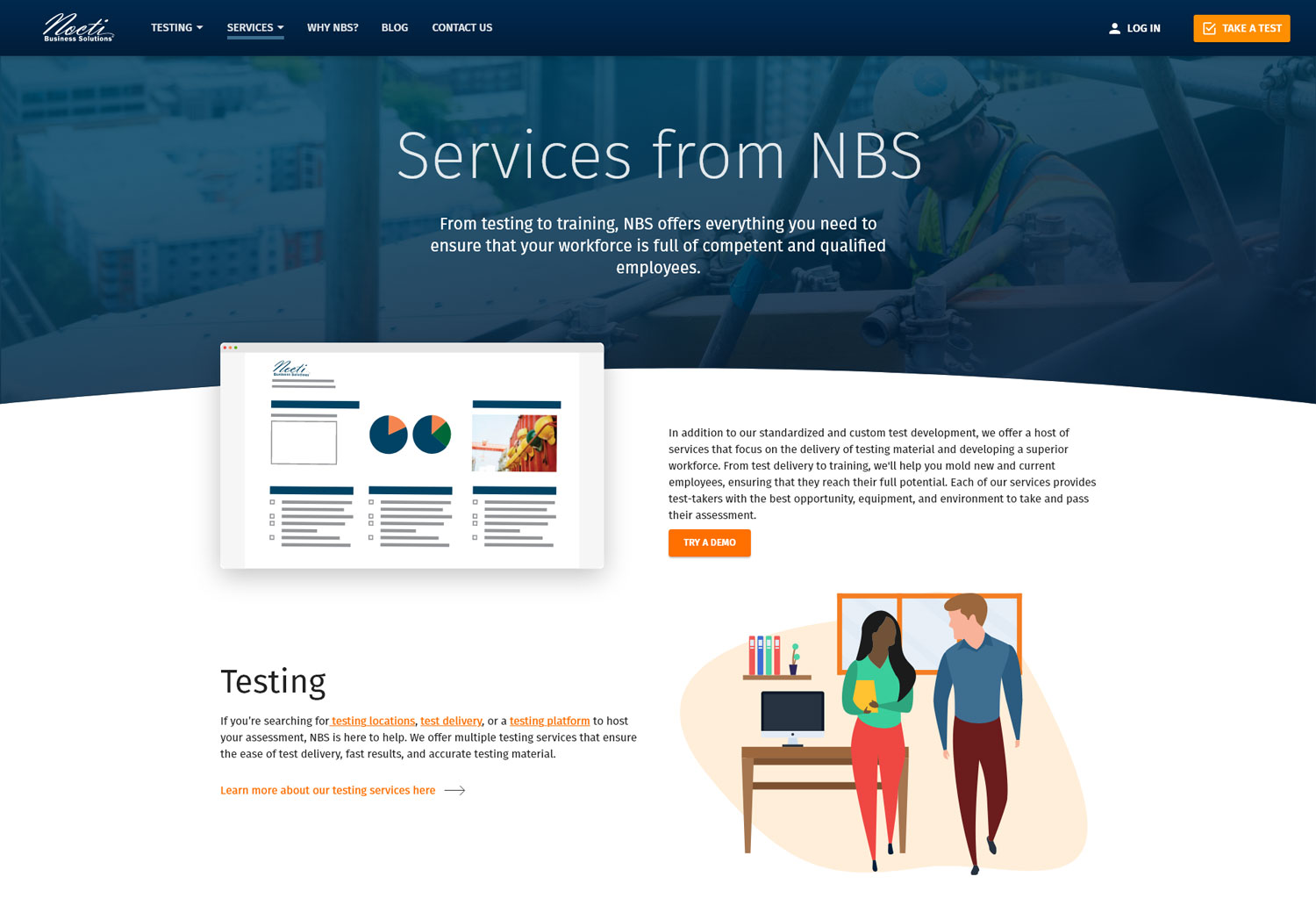 NBS-Services-screenshot