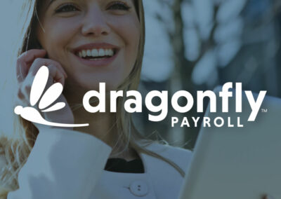 Giving Wings to Payroll: Logo and Website Design for Dragonfly Payroll