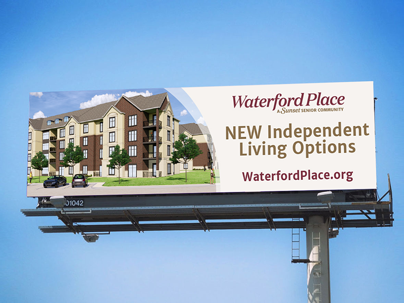 DVS Portfolio - Waterford Place Billboard