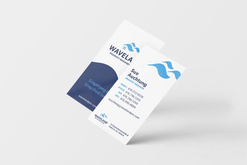 DVS Portfolio - Waveland Business Cards