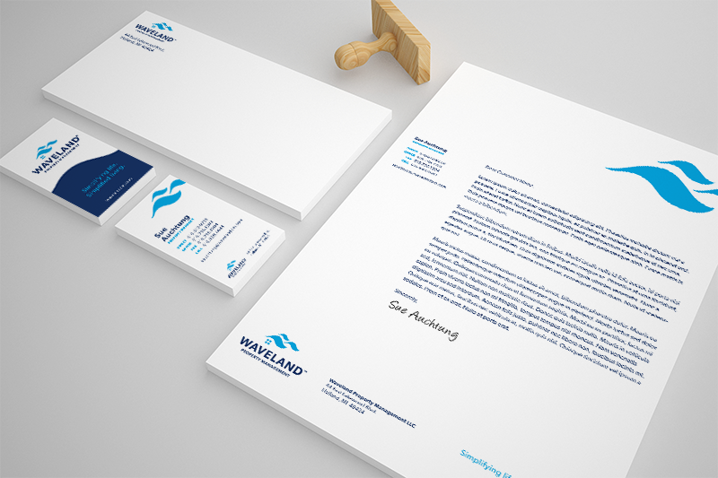 DVS Portfolio - Waveland Stationery